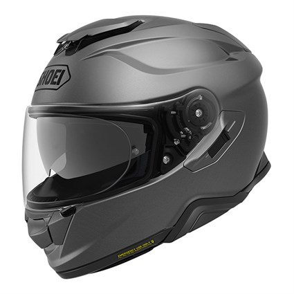 Shoei GT Air 2 Plain helmet in matt deep grey