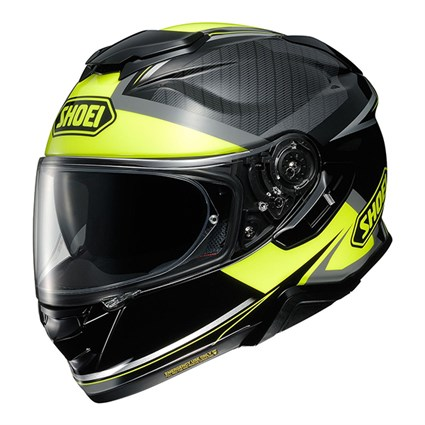 Shoei GT Air 2 Affair TC3 helmet in grey / yellow