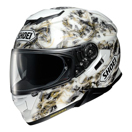 Shoei GT Air 2 Conjure TC6 helmet in white