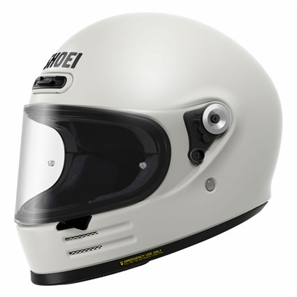 Shoei Glamster helmet in off white