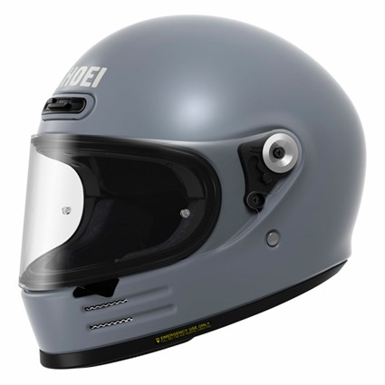 Shoei Glamster helmet in basalt grey