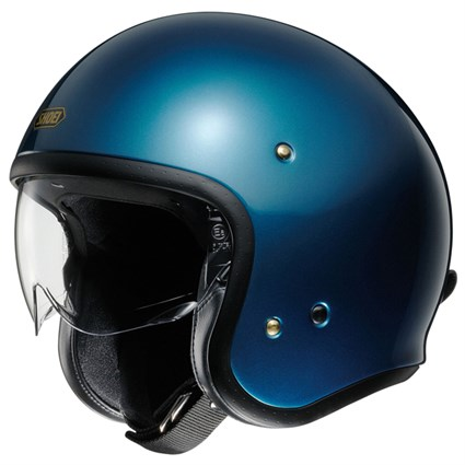 Shoei JO helmet in Laguna blue