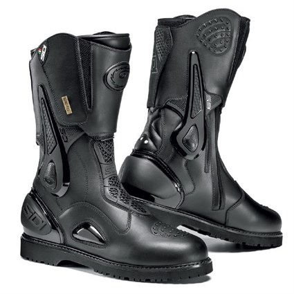 Sidi Armada Gore-Tex boots in black