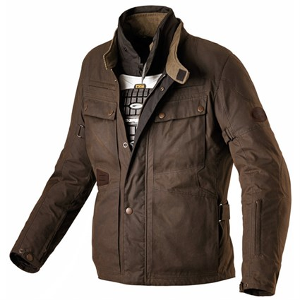 Spidi Worker Wax jacket in brown