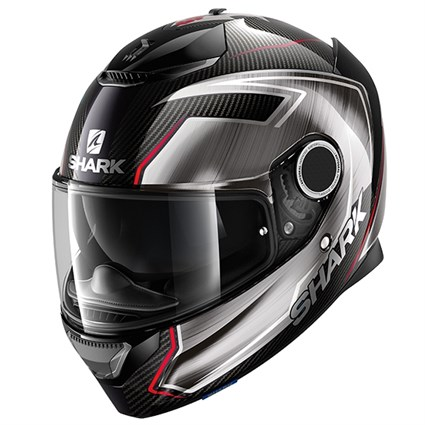 Shark Spartan Carbon Guintoli helmet in grey