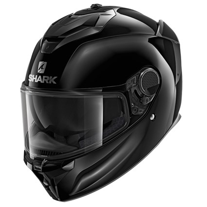 Shark Spartan GT Blank helmet in black