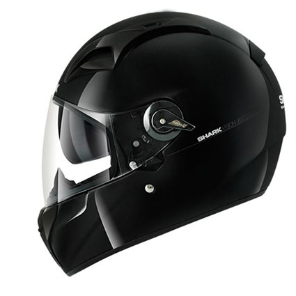 Shark Vision-R Blank helmet in gloss black