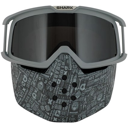 Shark Drak All Over Goggle and mask kit