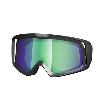 Shark Lens in iridium green