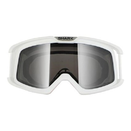 Shark Drak Goggles in white (frame only)