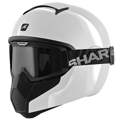 Shark Vancore helmet in white