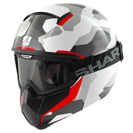 Shark Vancore Wipeout War helmet