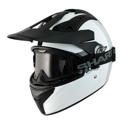 Shark Explore-R helmet in white