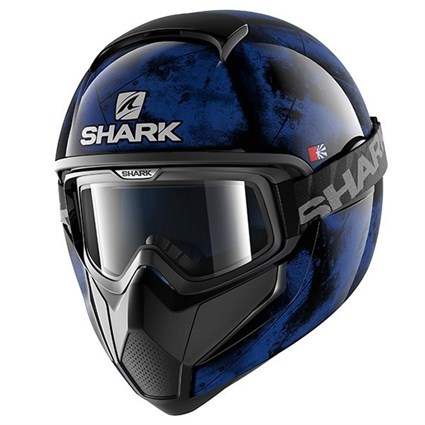 Shark Vancore Flare helmet in blue / black