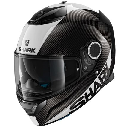 Shark Spartan Carbon Skin helmet in black / silver