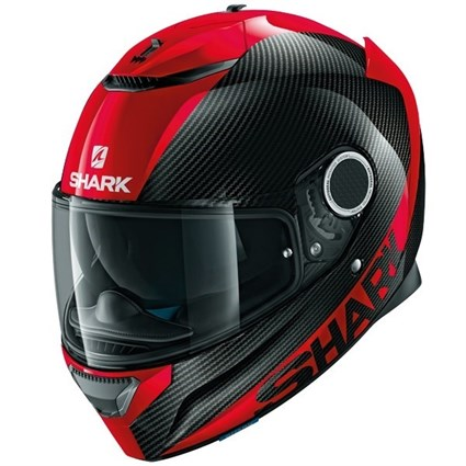 Shark Spartan Carbon Skin helmet in black / red