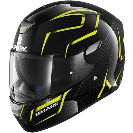 Shark Skwal Flynn helmet in black / yellow