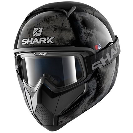 Shark Vancore Flare helmet in black / silver