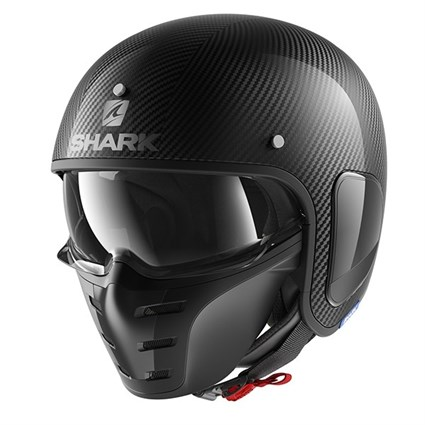Shark S-Drak Carbon helmet in black