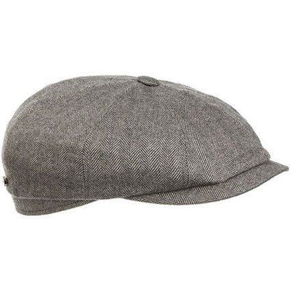 Stetson Silk / Wool 8 panel flat cap