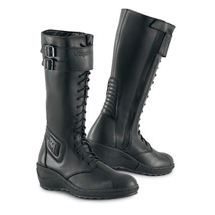 Stylmartin ladies Zeudi Laces boots in black