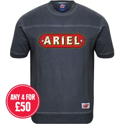 Retro Legends Classic Ariel T-sweat in blue