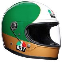AGV X3000 Ago helmet in red / white / green
