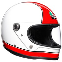 AGV X3000 Super AGV helmet in red / white