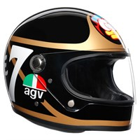 AGV X3000 Barry Sheene helmet in black / gold