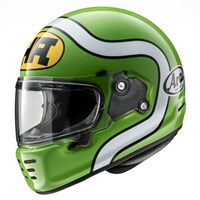 Arai Rapide HA helmet in green
