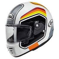Arai Rapide Number helmet in white