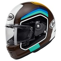 Arai Rapide Number helmet in brown