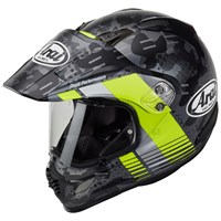 Arai Tour-X4 helmet in Cover yellow
