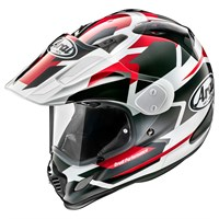 Arai Tour-X4 helmet in Depart metallic red