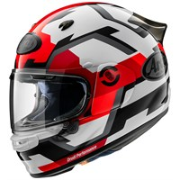 Arai Quantic Face helmet in red