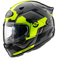 Arai Quantic Face helmet in yellow