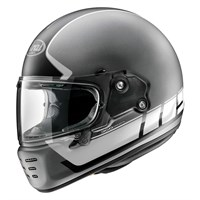 Arai Rapide Speedblock helmet in black / white