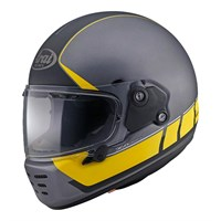 Arai Rapide Speedblock helmet in black / yellow