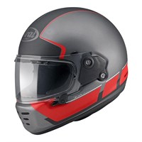 Arai Rapide Speedblock helmet in black / red