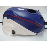 Bagster Tank cover GPZ 750R NINJA / GPZ 900R NINJA - blue / white / red piping