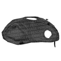 Bagster Cagiva 125 Roadster tank cover - bordeaux/grey