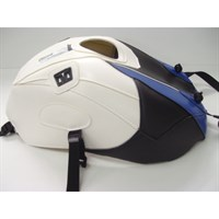 Bagster Tank cover S1000 RR / S1000 RR HP4 - blue / black / white / carbon triangle