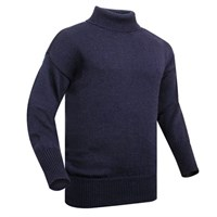 Submariner Windproof Rollneck Sweater  - Navy Blue