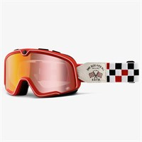 Barstow OFSA mirror lens goggles in red
