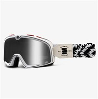 Barstow Death Spray lens goggles in silver