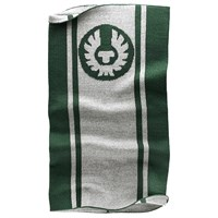 Belstaff Logo neck warmer in green