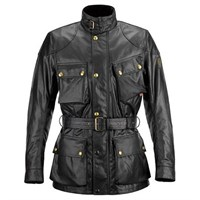 Belstaff Black Trialmaster Wax Cotton Jacket