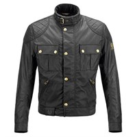 Belstaff Black Mojave Wax Cotton Jacket