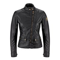 Belstaff Bradshaw wax cotton ladies jacket in black