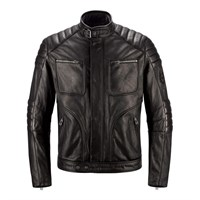 Belstaff Raleigh leather jacket in black